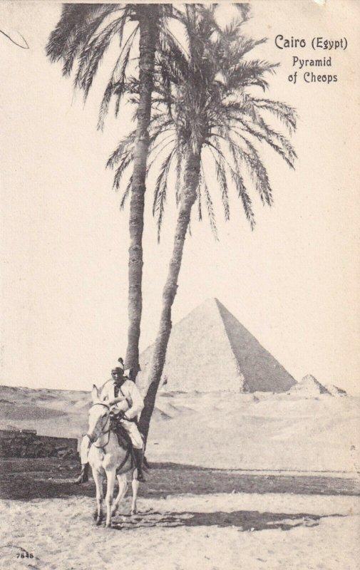 CAIRO, Egypt, 1901-1907; Pyramid Of Cheops
