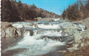 Rapids, Ottauquechee River, QUECHEE GORGE, Vermont, 40-60´