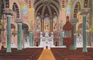 Florida Tampa Sacred Heart Church Interior