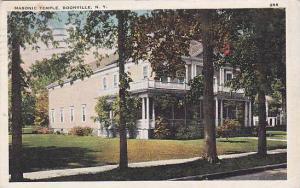 Masonic Temple, Boonville, New York,  PU-1935