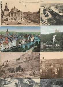 Belgium - Namur Postcards Lot of 12 Printed  01.02