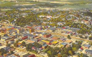 Gastonia North Carolina~Aerial View~1940 Postcard