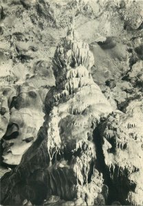 Czech Republic javoricko caves chinese pagoda stalagmite dome of gigant Postcard