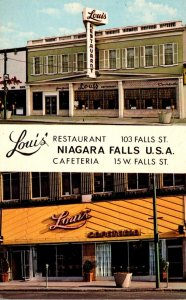 New York Niagara Falls Louis' Restaurant and Cafeteria