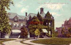 TOM L. JOHNSON'S RESIDENCE, CLEVELAND, OH 1910