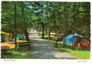 Canada, Camping Paradise, unused Postcard