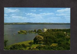 WI American Baptist Assembly Green Lake Wisconsin Postcard Roger Williams Inn