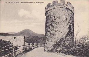 Ruines Du Chateau De Ribeaupierre, Ribeauville (Aisne), France, 1900-1910s