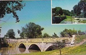 The Chesapeake And Ohio Canal Aqueduct Over Conochegue Creek Williamsport Mar...