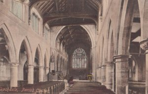 ROCHDALE, Greater Manchester, England, 1910s; Parish Church
