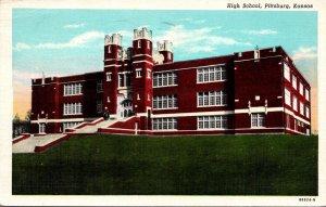 Kansas Pittsburg High School 1942 Curteich