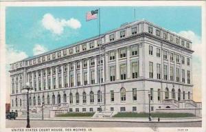Iowa Des Moines United States Court House