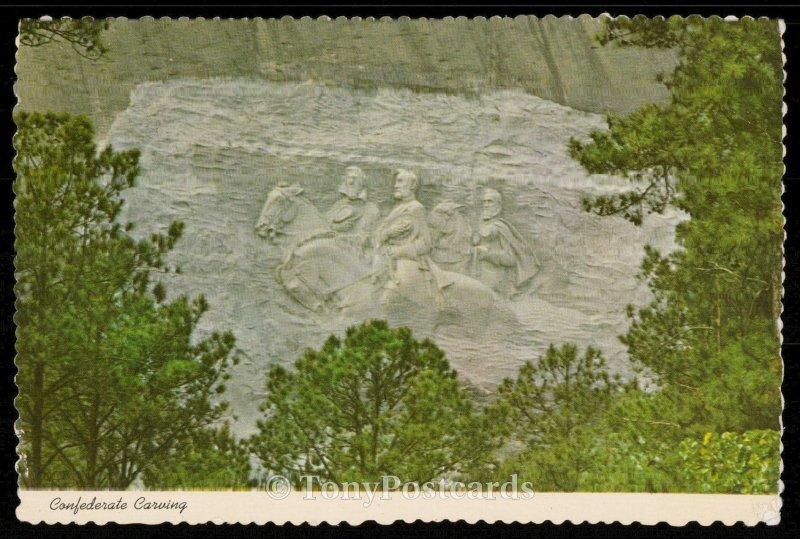 Confederate Carving