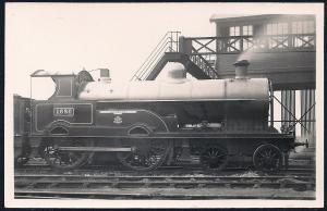 LONDON NORTHWESTERN Railroad Locomotive LOYALTY RPPC unused