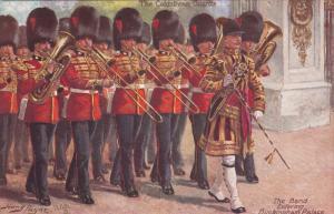 Band entering Buckingham Palace [Harry Payne artist], 00-10s TUCK