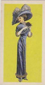 Brooke Bond Vintage Trade Card British Costume 1967 No 42 Lady's Day Dress Ci...