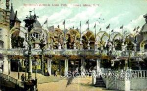 Luna Park Coney Island NY Postal Used Unknown