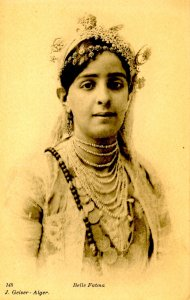 Algeria - Belle Fatma Beautiful Queen of Tunis