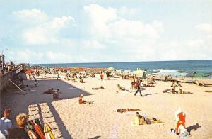 Ocean City Maryland~Beach~Bathing Beauty~Huge Stuffed Animal~1960s Postcard