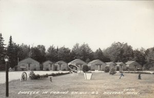 RP: BREVORT , Michigan, 1930-40s ; Cabins on U.S. #2