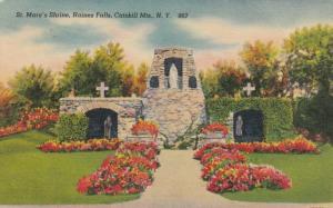 CATSKILL MOUNTAINS, New York, 1947; St. Mary's Shrine, Haines Falls