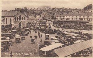 NEWTON ABBOT , Devon , England , 1910-20s ; Market