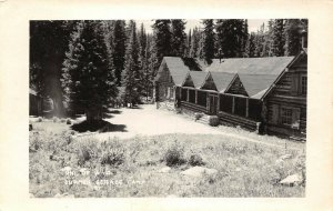 LP61 University of  Wyoming  RPPC Postcard  Summer Science Camp