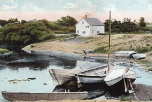 ME - Ogunquit. Early 1900's.  Shady Nook at Perkins Cove    (Repro)