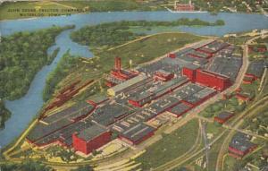 Iowa Waterloo Aerial View John Deere Tractor Company 1951