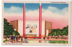 1939 NY Worlds Fair, Communication Bldg