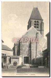 Gometz City Postcard Ancient Church