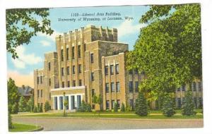 Liberal Arts Building, University Of Wyoming, At Laramie, Wyoming, 1930-1940s
