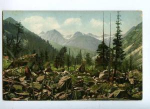 131793 Russia ALTAY Valley Nizhny Kurgan River Altai Vintage
