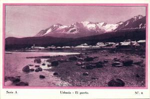 argentina, TIERRA DEL FUEGO, Ushuaia, El Puerto (1920s) Postcard