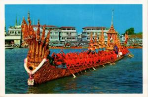 CPM THAILAND The Nakaraj Barge in a procession, Bangkok Thailand (345888)