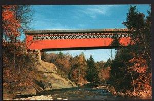 Vermont Old Covered Chiselville Bridge (East Arlington) Chrome