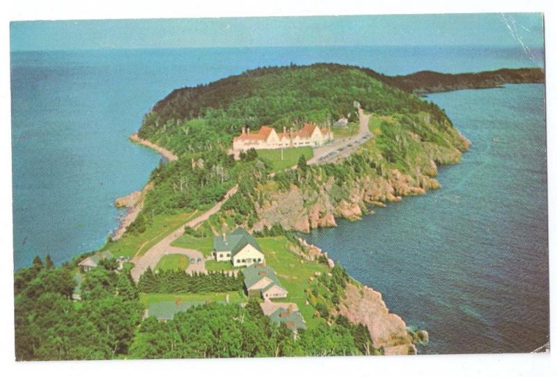 Keltic Lodge Cape Breton Nova Scotia Canada Aerial View