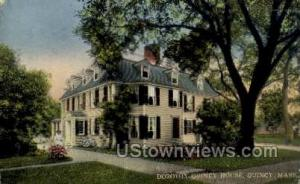 Dorothy Quincy House Quincy MA postal used unknown