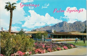 Thunderbird Country Club Palm Springs CA Golf Course Unused Vintage Postcard F65