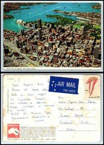 AUSTRALIA Postcard - New South Wales, Sydney, Aerial View AH