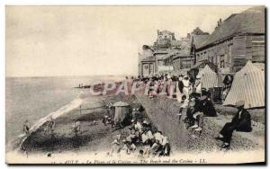 Old Postcard Ault The Beach and the Casino