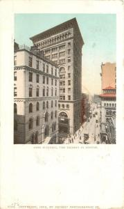 Boston Massachusetts~Detroit Publishing #6199 Ames Building~1902 Postcard