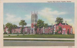 Kansas Topeka High School Curteich