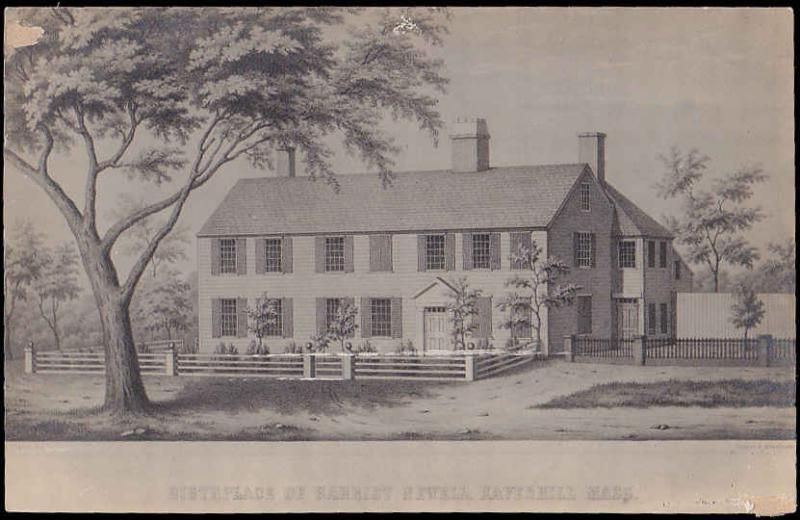 Birthplace of Harriet Newell