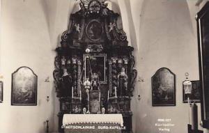 RP, Interior, Burg- Kapelle, Stadtschlaining (Burgenland), Austria, 1920-1940s