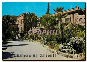 Postcard Old Theoule Sea Riviera Chateau Holidays C.C.A.S. Center