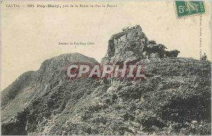 Old Postcard Cantal Puy Mary took the Road to No Payrol Chevre Bouc