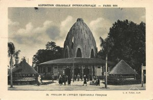 French Equatorial Africa, International Colonial Expo, Paris 1931, Used Postcard