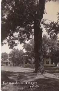 Minnesota Lake City General View Frontenac Methodist Camps 1953 Real Photo