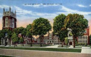 Loyola University New Orleans LA Unused
